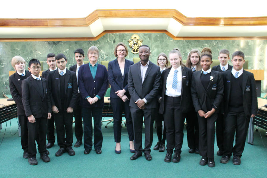 School Council visit Haringey Council